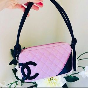 ⬇️Pricedrop Authentic Pink Chanel Cambon bag